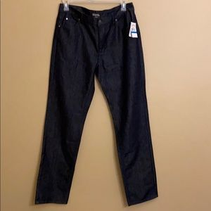 Michael Kors Rinse Wash Straight Jeans 36/34 NWT